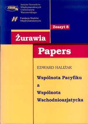 Wspólnota pacyfiku a Wspólnota - okładka książki