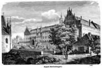Zamek Marienburski - zdjęcie reprintu, mapy