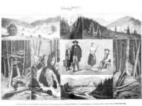 Źródła Wisły - zdjęcie reprintu, mapy