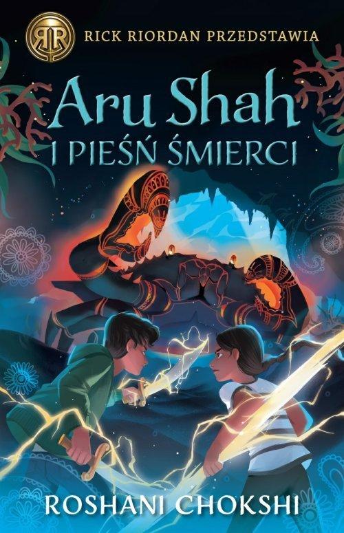 Aru Shah i pieśń śmierci Kroniki - okładka książki