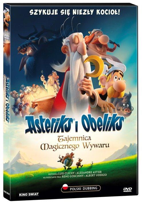Asteriks i Obeliks: Tajemnica magicznego - okładka filmu