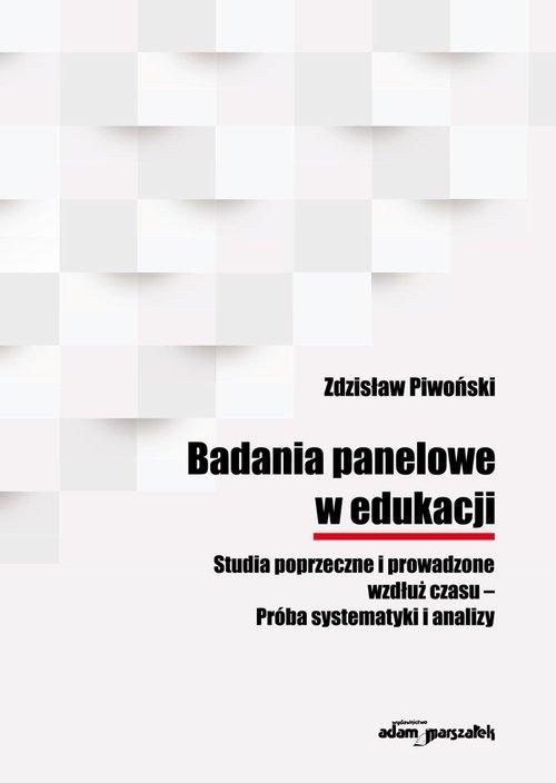 Badania panelowe w edukacji Studia - okładka książki