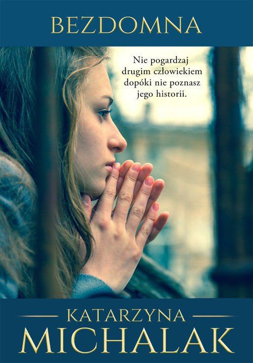 Bezdomna - okładka książki