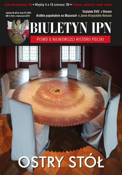 Biuletyn IPN nr 161 (4) / 2019 - okładka książki