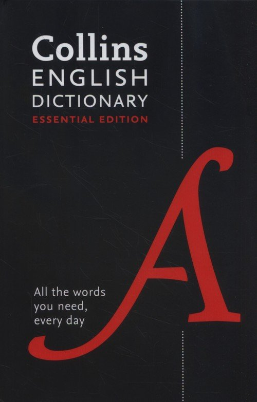Collins English Essential Dictionary. - okładka książki