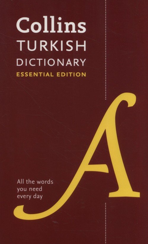 Collins Turkish Essential Dictionary - okładka książki