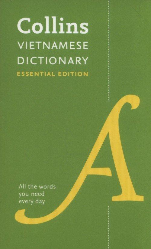 Collins Vietnamese Essential Dictionary - okładka książki
