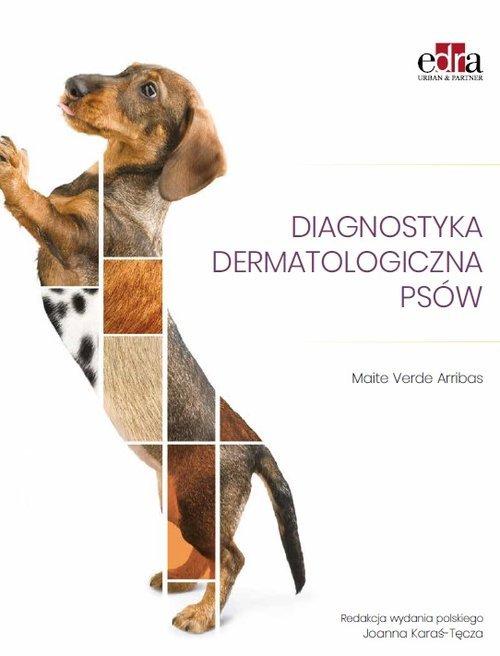 Diagnostyka dermatologiczna psów - okładka książki