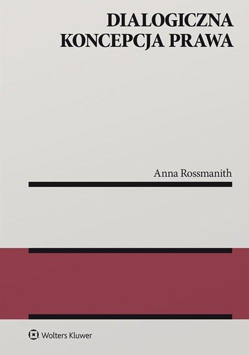 Dialogiczna koncepcja prawa - okładka książki