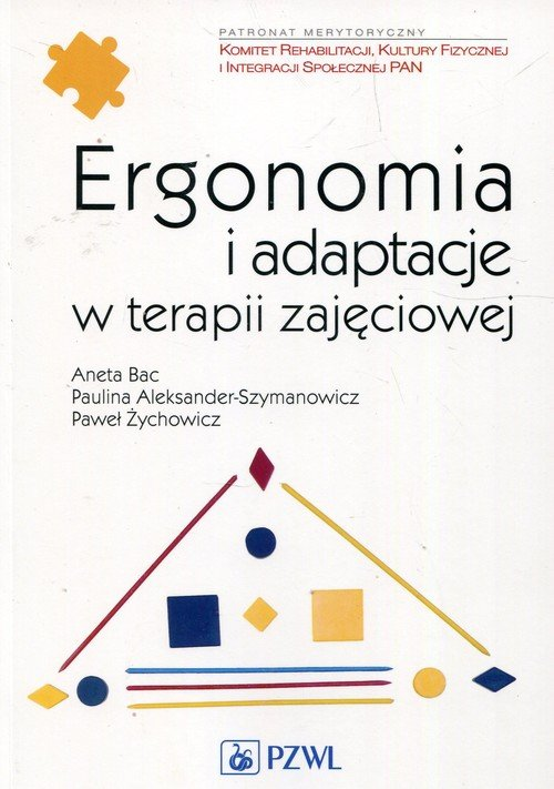 Ergonomia i adaptacje w terapii - okładka książki