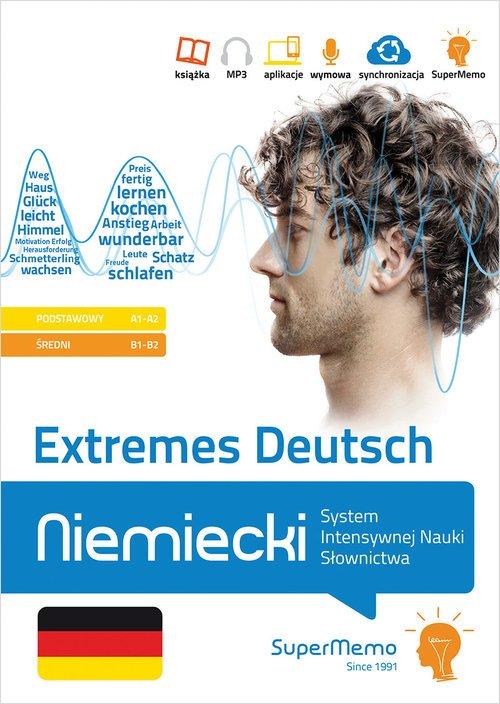 Extremes Deutsch Niemiecki System - okładka podręcznika