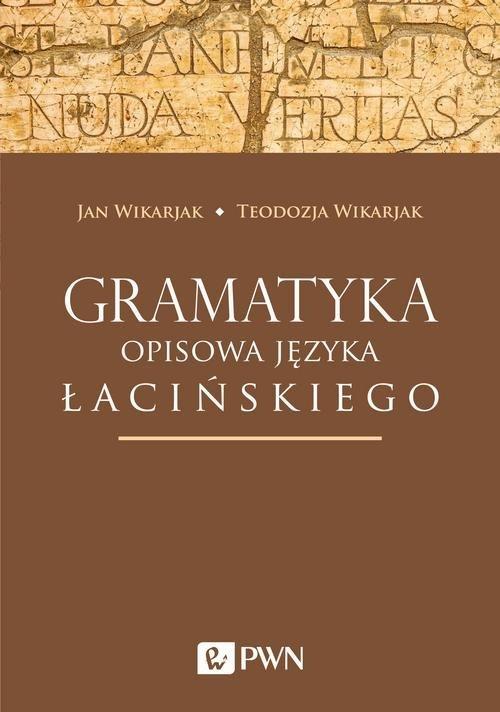 Gramatyka opisowa języka łacińskiego - okładka podręcznika