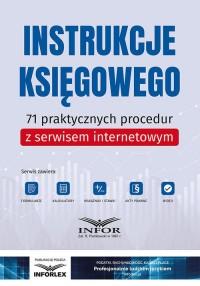 Instrukcje księgowego. 71 praktycznych - okładka książki