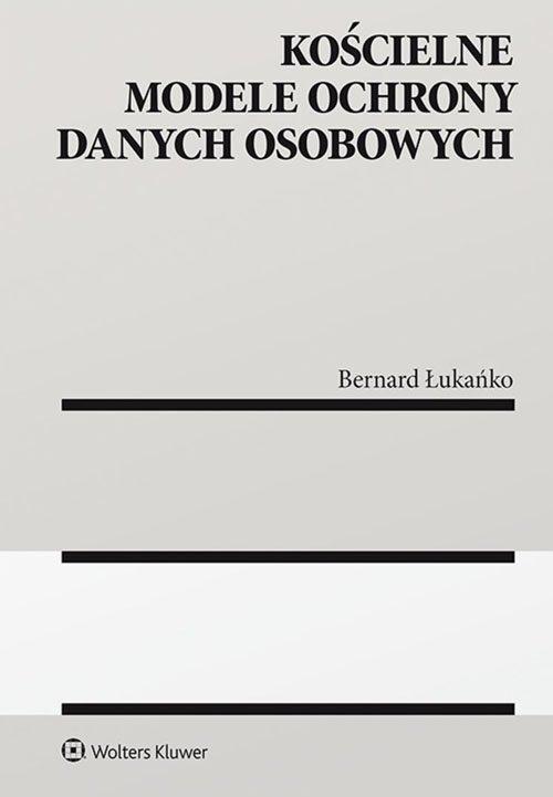 Kościelne modele ochrony danych - okładka książki