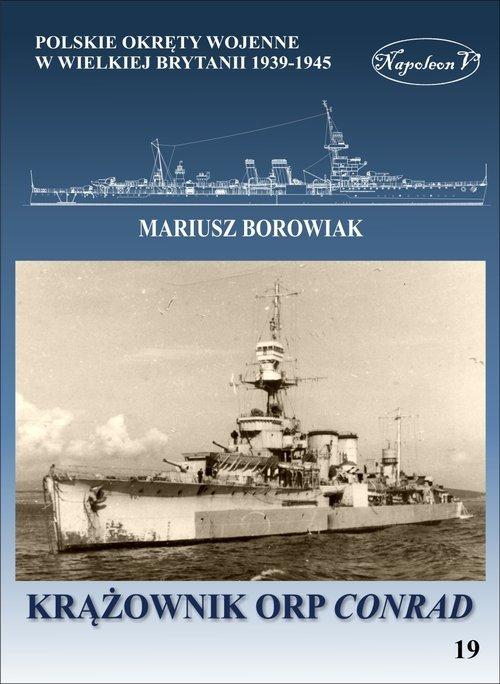 Krążownik ORP Conrad - okładka książki