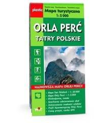 Mapa turystyczna Tatry Polskie - okładka książki