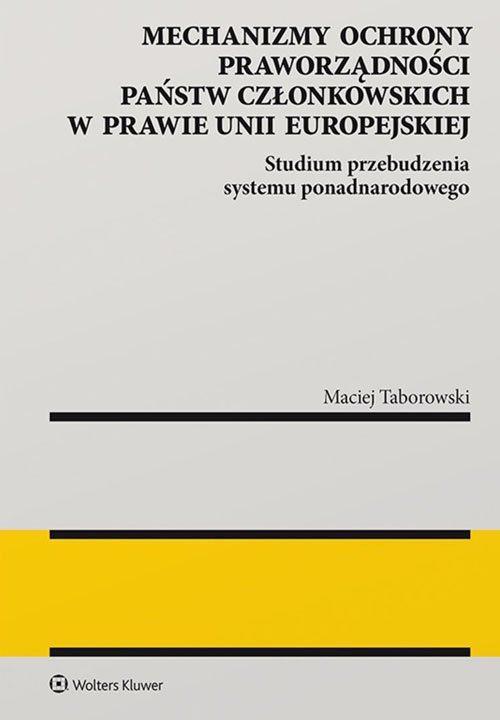 Mechanizmy ochrony praworządności - okładka książki