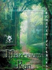 Misterium run - okładka książki