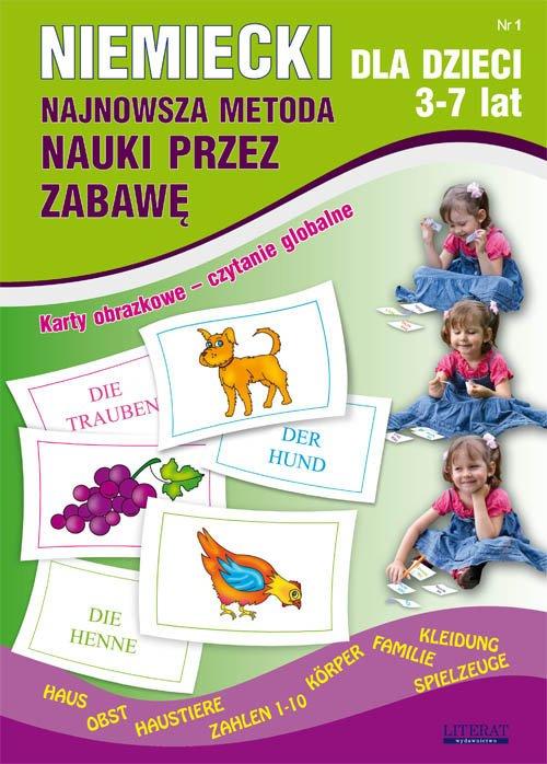 Niemiecki dla dzieci 1. 3-7 lat. - okładka podręcznika