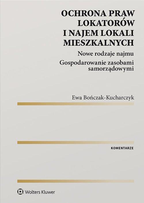 Ochrona praw lokatorów i najem - okładka książki