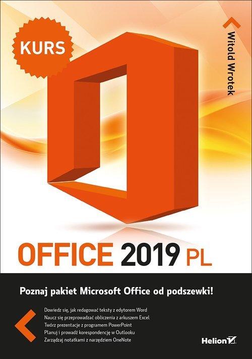 Office 2019 PL. Kurs - okładka książki