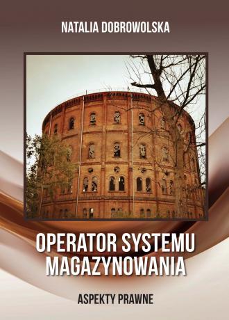 Operator systemu magazynowania - okładka książki