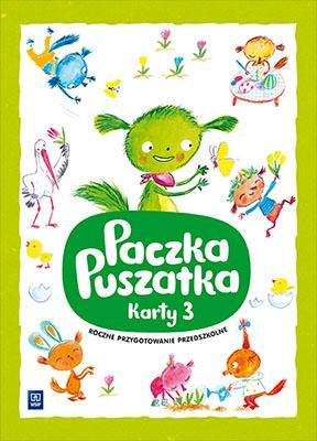 Paczka Puszatka cz. 3 - okładka podręcznika