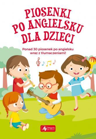 Piosenki po angielsku dla dzieci - okładka książki