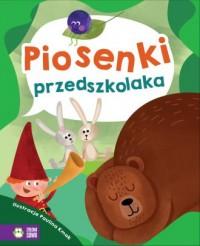 Piosenki przedszkolaka - okładka książki