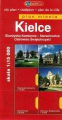 Plan Miasta DAUNPOL. Kielce - okładka książki