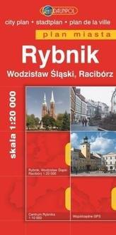 Plan Miasta DAUNPOL. Rybnik - okładka książki