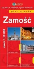 Plan Miasta DAUNPOL. Zamość - okładka książki