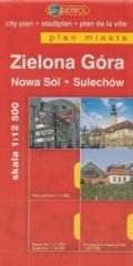 Plan Miasta DAUNPOL. Zielona Góra - okładka książki