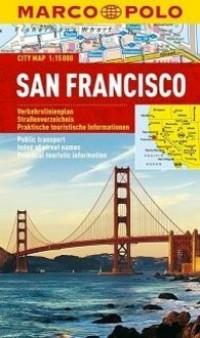 Plan Miasta Marco Polo. San Francisco - okładka książki