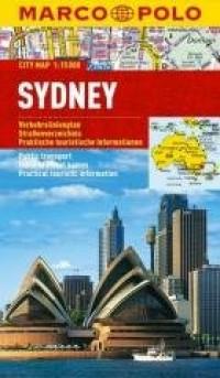 Plan Miasta Marco Polo. Sydney - okładka książki
