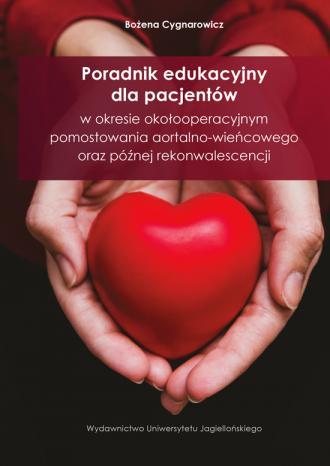Poradnik edukacyjny dla pacjentów - okładka książki