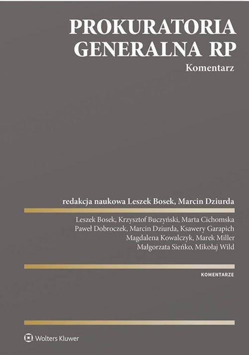 Prokuratoria Generalna RP. Komentarz - okładka książki