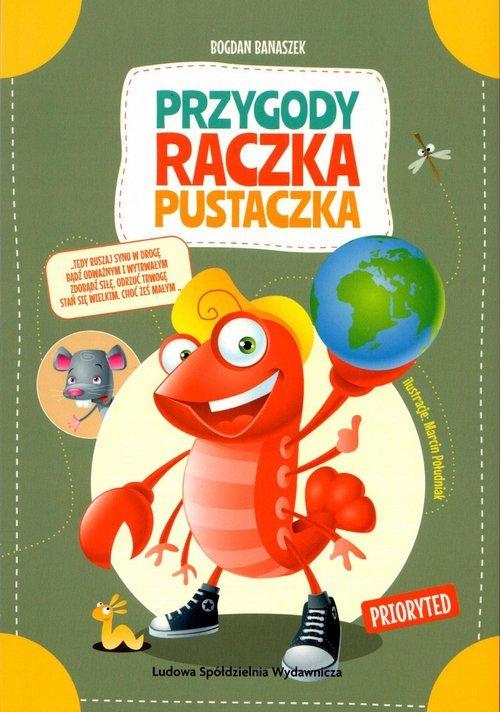 Przygody Raczka Pustaczka - okładka książki