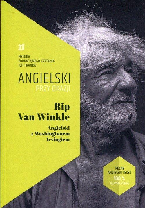 Rip Van Winkle Angielski z Washingtonem - okładka książki