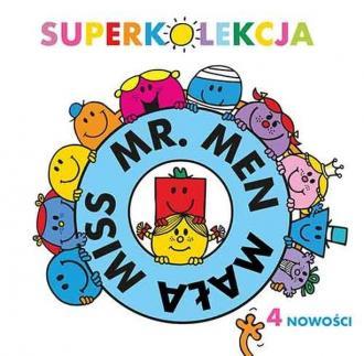 Superkolekcja Mr. Men i Mała Miss - okładka książki
