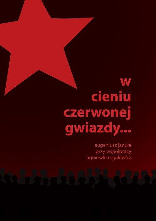 W cieniu czerwonej gwiazdy - okładka książki