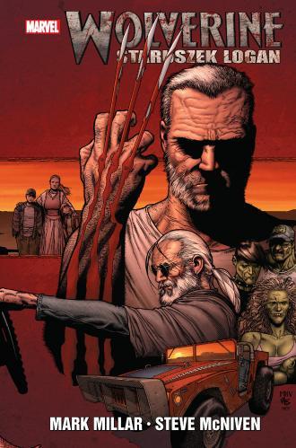 Wolverine Staruszek Logan - okładka książki