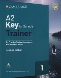 A2 Key for Schools Trainer 1 for - okładka podręcznika