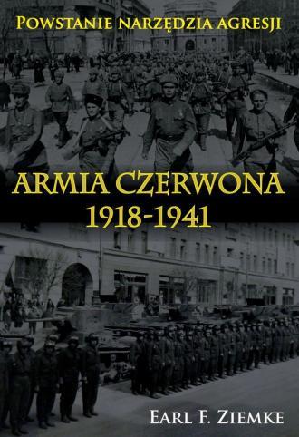 Armia Czerwona 1918-1941 - okładka książki