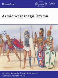 Armie wczesnego Rzymu - okładka książki