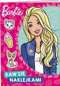 Barbie. Bawię się naklejkami - okładka książki
