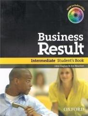Business Result Interm. SB (+ DVD-ROM) - okładka podręcznika