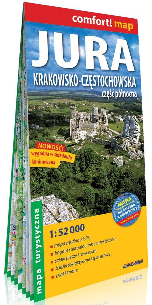 Comfort! map Jura Krakowsko-Częstochowska - okładka książki