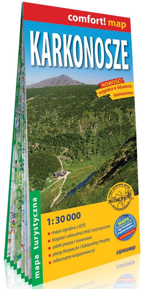Comfort! map Karkonosze mapa turystyczna - okładka książki