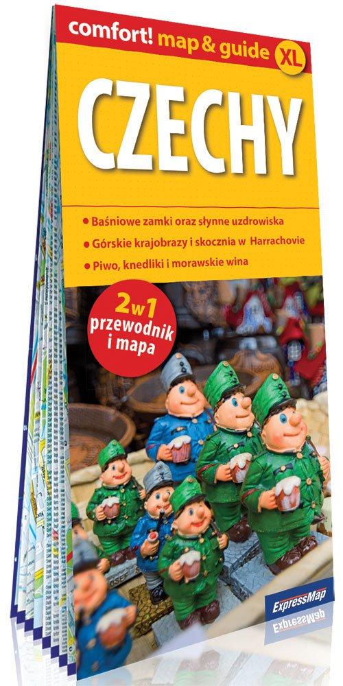 Comfort! map&guide XL Czechy 2w1 - okładka książki